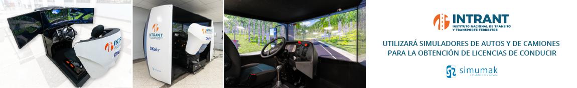 INTRANT utilizará simuladores de autos y de camiones para la obtención de licencias de conducir